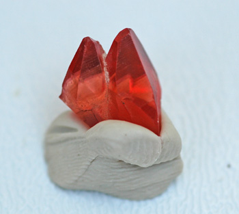 Electric Pink-Orange Rhodochrosite Crystal Hotazel Africa 7.98 carat