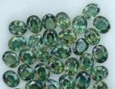 Madagascar green Sapphire Lot  Native Cuts 18.92 tcw