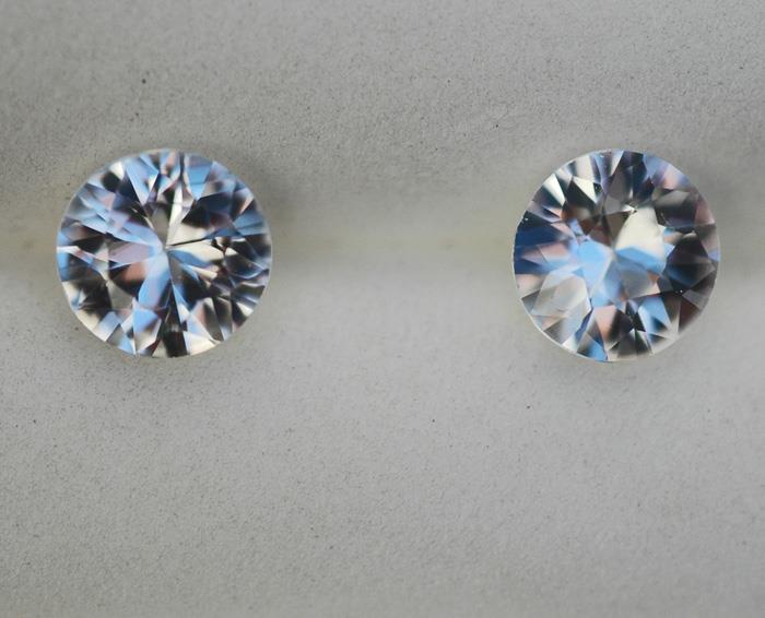 Image for Cambodia natural Zircon pair 2.52 tcw