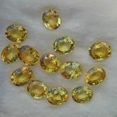 Image for Natural Songea Golden Sapphire 13 stone parcel 5.55 tcw.