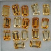 Image for Citrine Parcel 17 matching stones 8.66 tcw.