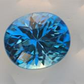 Image for Large Electric Swiss Blue Topaz 35.89 ct