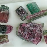 Image for Watermelon Tourmaline Cabochon Rough Lot 158.7 TCW
