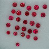 Image for Burma Natural Flame Red Spinel Melee Lot 1.1 tcw