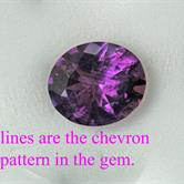 Image for Bolivia natural Amethyst 5.0 carat