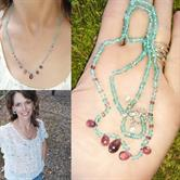 Image for Madagascar Neon Apatite and Pink Tourmaline Necklace